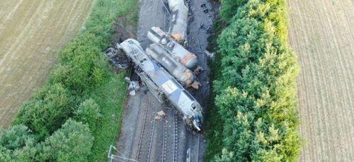 Accident ferroviaire : La remise en état des installations...
