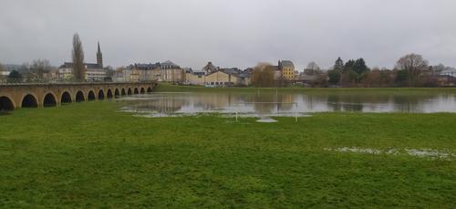 Inondations : la décrue s'amorce dans les Ardennes