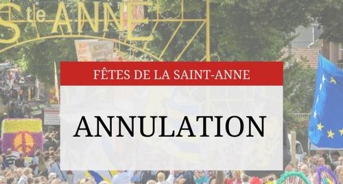 Rethel : les fêtes de Sainte-Anne annulées