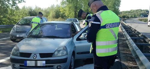 Plus de 70 infractions relevées ce week-end sur les routes ardennaises