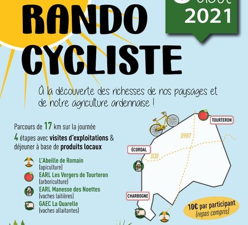 Une rando cycliste par les JA des Ardennes.