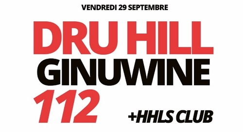 A GAGNER : Dru Hill, Ginuwine & 112 à l'Olympia !