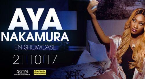 A GAGNER : Aya Nakamura en showcase au Sete