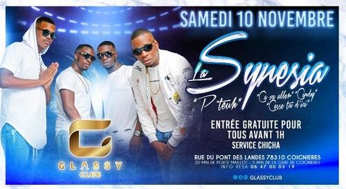 A GAGNER : Votre table VIP pour le showcase de La Synesia au Glassy...