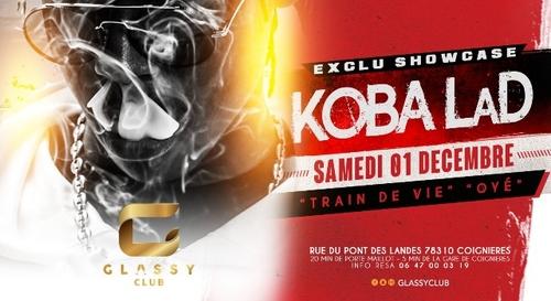 A GAGNER : Votre table VIP pour le showcase de Koba laD au Glassy...