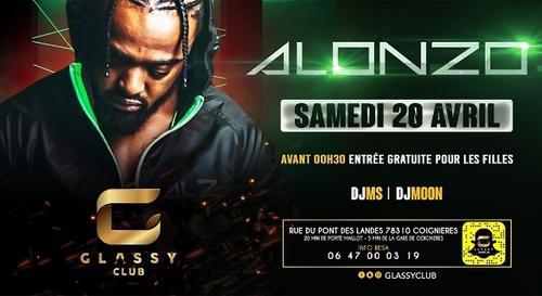 Gagnez votre table VIP pour le showcase d'Alonzo au Glassy Club !