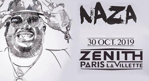 Gagne tes places pour le concert de Naza au Zénith Paris !