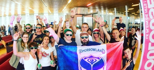 Tomorrowland Gate Party