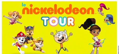 LE NICKELODEON TOUR