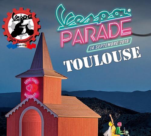 Vespa Parade Toulouse !
