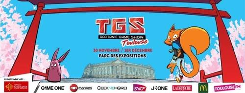 Le Toulouse Game show débarque ce week-end au Parc des Expos