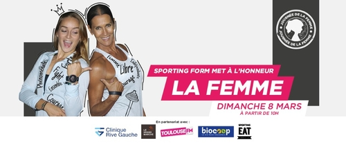 Journée internationale des femmes par Sporting Form