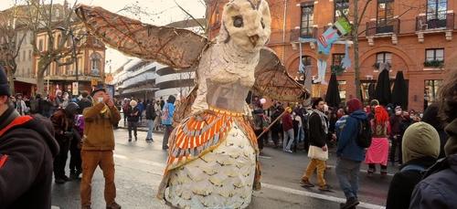 Toulouse. Action coup de poing du collectif toulousain Aux Arts etc