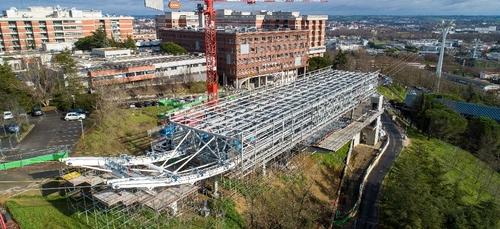 Toulouse. Les travaux se poursuivent sur le chantier du futur...