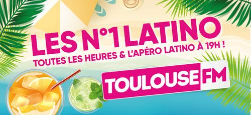 LES HITS LATINO SUR TOULOUSE FM !