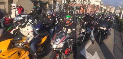 Toulouse : les motards se mobilisent contre le contrôle technique...