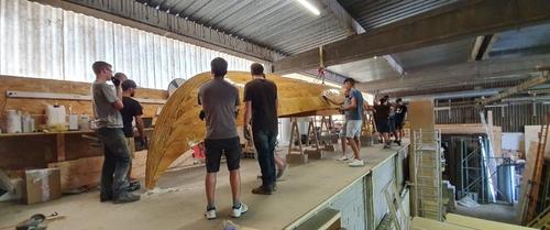 Toulouse. Une association lance la construction du drakkar le plus...