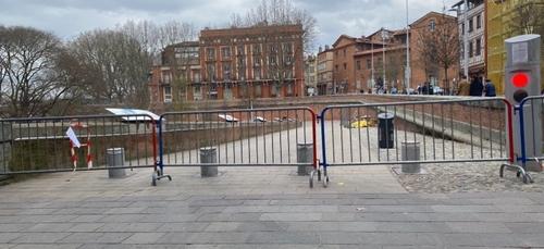 Toulouse. Les berges de la Garonne à nouveau fermées dès ce dimanche
