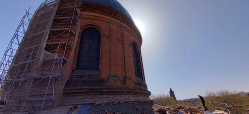 Toulouse. Le Dôme de la Grave continue de se refaire une beauté