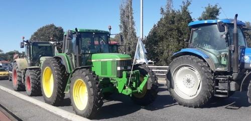 Les agriculteurs mobilisés contre la PAC, des perturbations à...