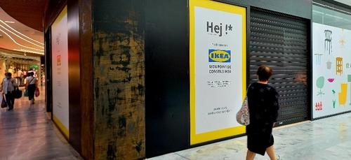 IKEA s'installe dans une galerie commerciale du centre de Toulouse...
