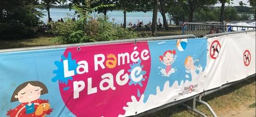 La bonne qualité de l'ensemble des sites de baignades de Toulouse...