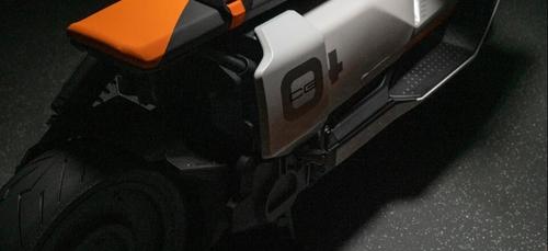 BMW dévoile son scooter futuriste, le CE 04