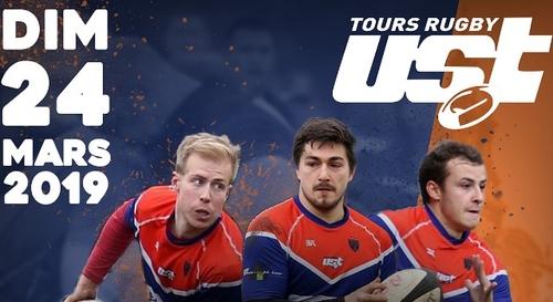 Gagnez vos places pour US Tours Rugby - Rugby Club de Blois !