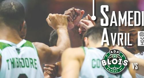 Gagnez vos places pour le match ADA Blois Basket - ALM Évreux...