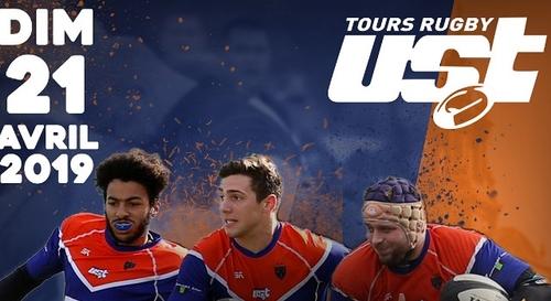 Gagnez vos places pour US Tours Rugby - Rugby Club Guérétois !