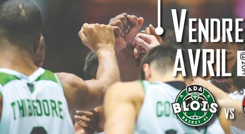 Gagnez vos places pour le match ADA Blois Basket - Aix Maurienne...