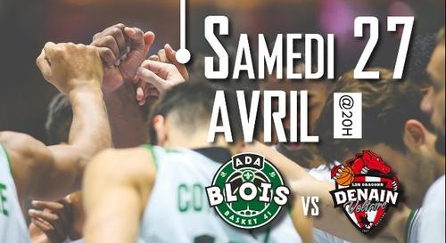 Gagnez vos places pour ADA Blois - Denain Voltaire Basket
