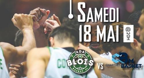 BASKET : Gagnez vos places pour le match ADA Blois - C'Chartres Basket