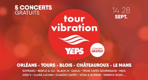 Gagnez vos pass VIP pour rencontrer les artistes du Tour Vibration !