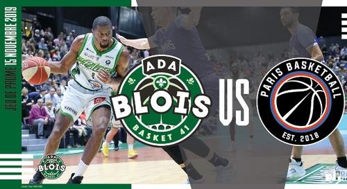 Gagnez vos places pour le match ADA Blois - Paris Basketball !
