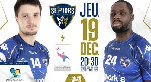 Gagnez vos places pour le match Saran Loiret Handball - Cesson...