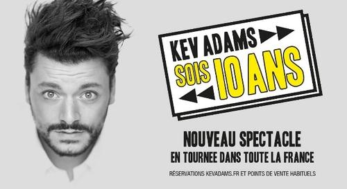 Gagnez vos places pour le spectacle de Kev Adams à Orléans !