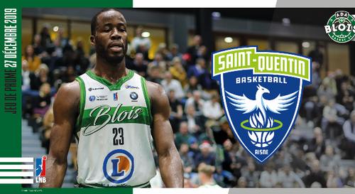 Gagnez vos places pour le match ADA Blois Basket - Saint-Quentin...