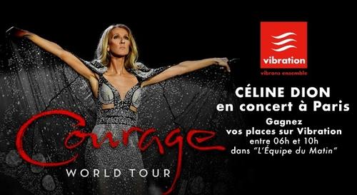 Gagnez vos places pour le concert de Céline Dion à Paris !