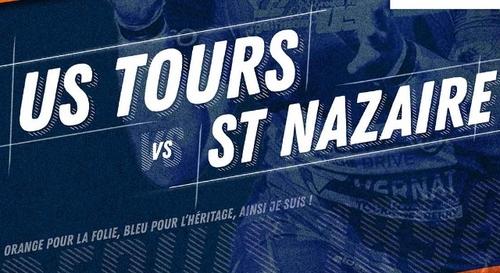 Rugby : Gagnez vos places pour le match US Tours - Saint-Nazaire Rugby