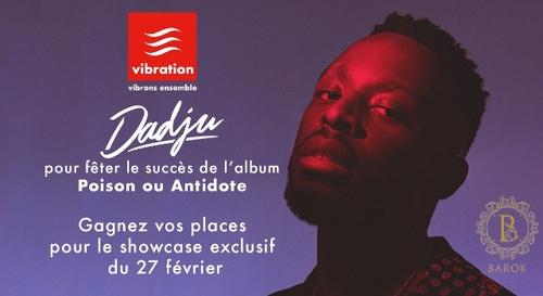 Gagnez vos places pour le showcase Vibration de Dadju à Orléans !