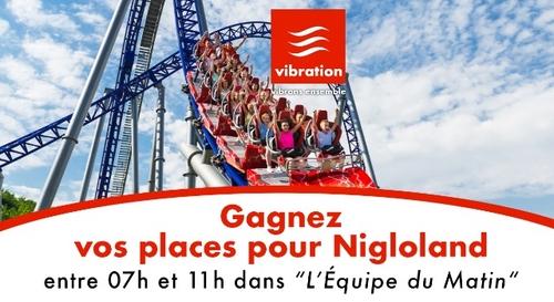 Gagnez vos 4 entrées pour Nigloland !