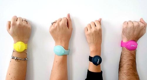 Gagnez votre Bracelet Citron, distributeur de gel hydroalcoolique