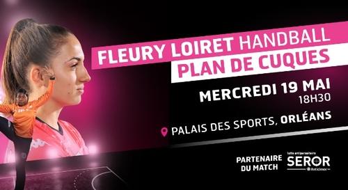 Gagnez vos places pour le match Fleury Loiret Handball - Plan de...