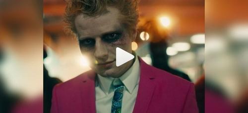 Ed Sheeran dévoile un extrait de son futur clip où il est déguisé...
