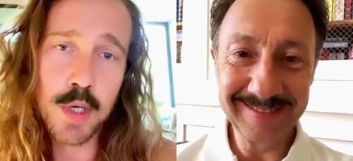 Quand Julien Doré partage une vidéo hilarante avec Stéphane Bern...