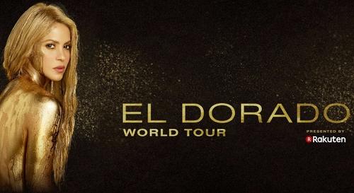 Gagnez vos places pour Shakira à l'AccorHotels Arena