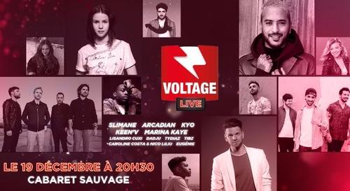 Gagnez vos places pour le Voltage Live !