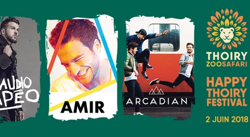 A GAGNER : Amir, Arcadian et Claudio Capéo en concert à l'Happy...