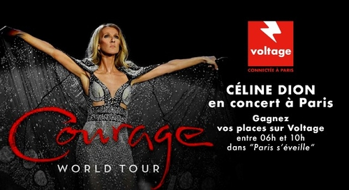 Gagnez vos places pour le concert de Céline Dion à Paris La...